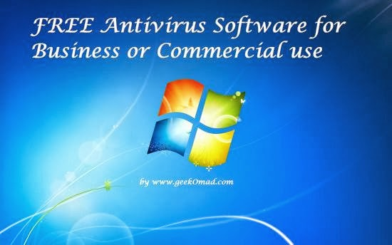 5 FREE Antivirus Software for Commercial or Business use