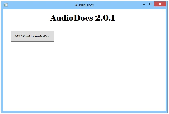 How To Convert MS Word Document To Audio .WAV File To Hear The Text
