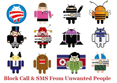 5 FREE Call & SMS Blocking Android Apps [BlackList Unwanted People]