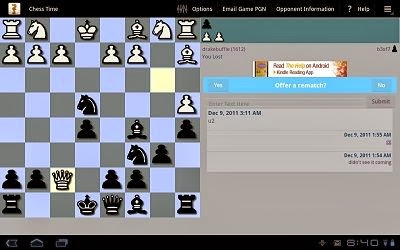 Chess Time - Multiplayer Cross Platform Chess work on Android, iOS and Windows Phone 8