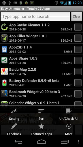 uninstall apps in android, remove android apps, delete apps in android