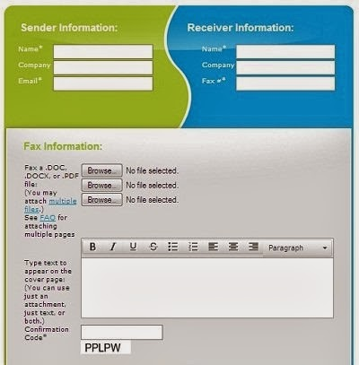 send free fax with FaxZERO Fax Service
