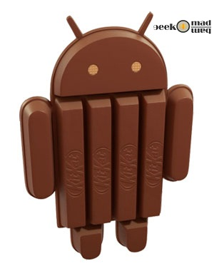 New Android 4.4 KitKat uses Nestlé's Chocolate Name