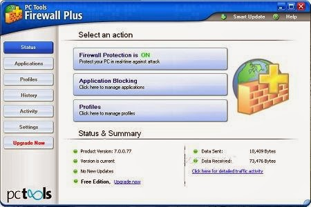 PC Tools Firewall Plus free