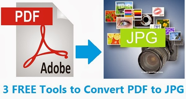 3 FREE Tools to Convert PDF to JPG Online | Extract Images From PDF