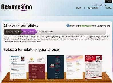 resume sites free