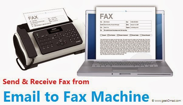Send and Receive Faxes from Email, send faxes from email to fax machine
