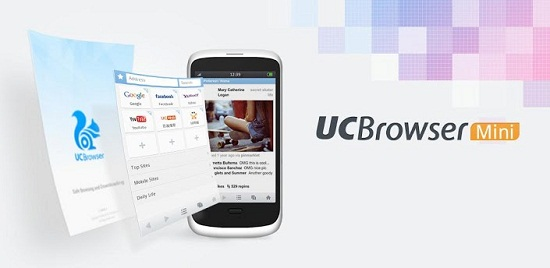 UC Browser Mini Web Browser for Android phone & tablets & iOS phones & iPads