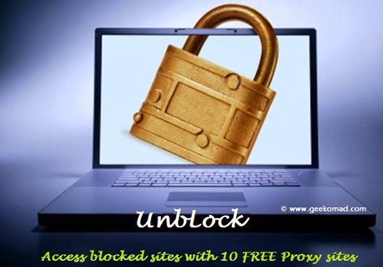 Access blocked sites with proxy sites, changes and hides IP addresses.
