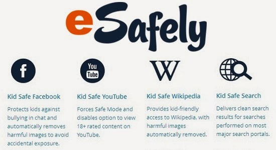 eSafely Parental Control: Block Porn Videos, Safe Search for Kids