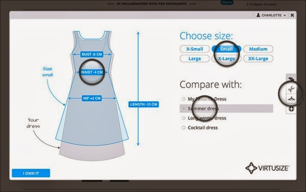A New App Virtually Check Clothes Fitting Before Online Purchasing