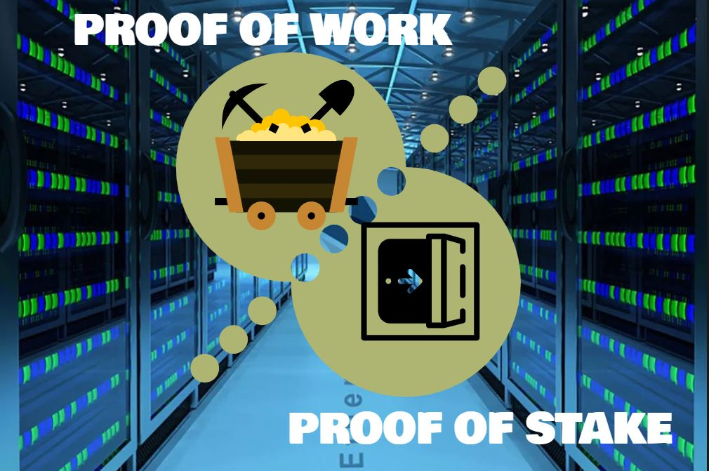 Proof-of-Work vs Proff-of-Stake