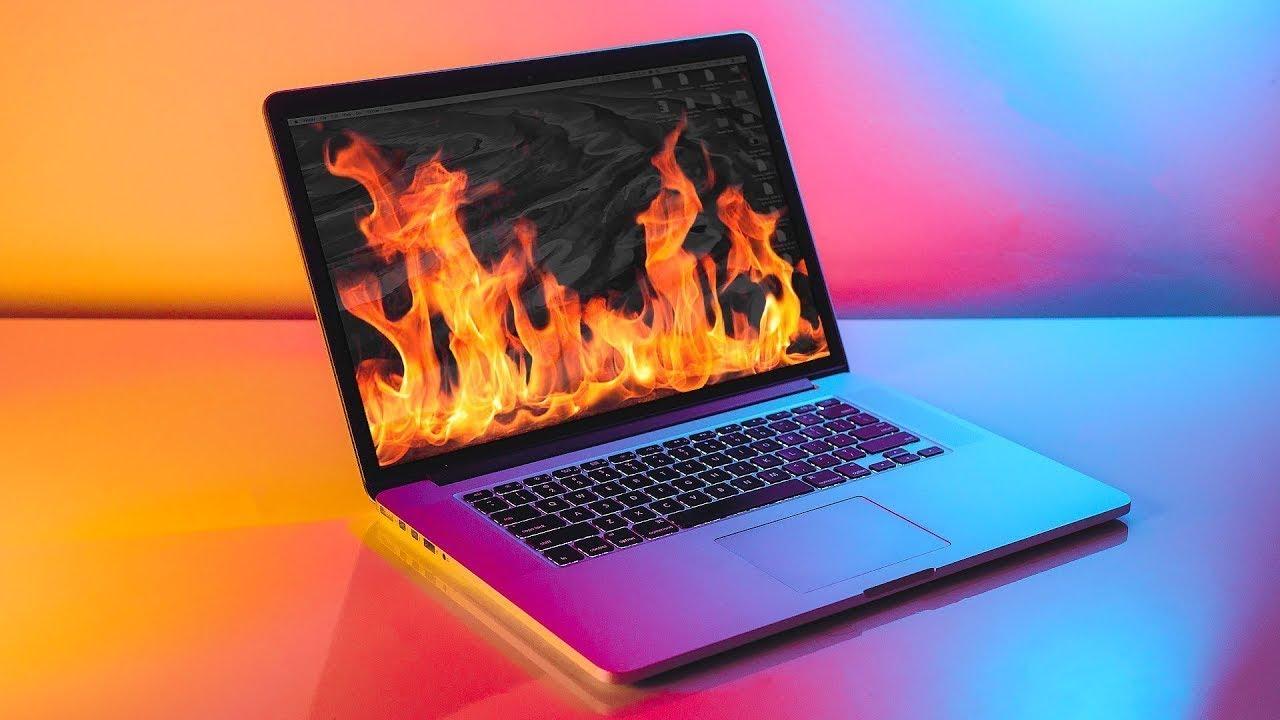 PC in fire