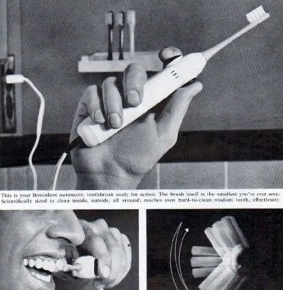 Broxodent electric toothbrushes